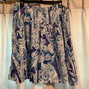 Beautiful Lauren Ralph Lauren Paisley Skirt